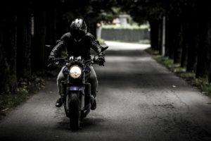motoros bőrdzseki